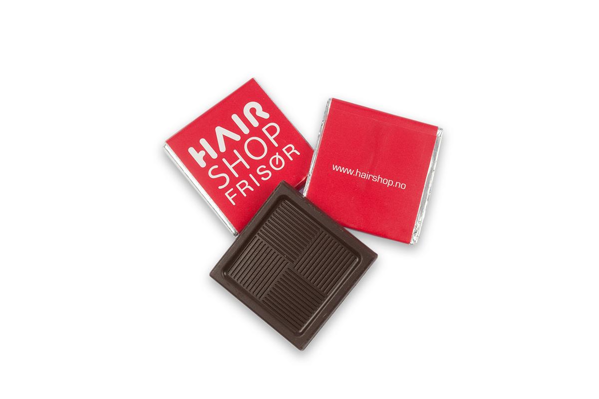 sjokolade med eget trykk